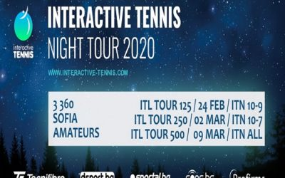 Софийски тенис клуб 360 е домакин на турнира ITL за втора поредна година
